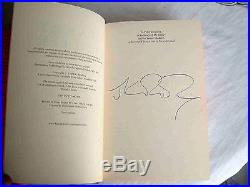Harry Potter Goblet Of Fire Signed J K Rowling First Edition HB Nr Fine