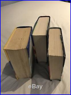 Harry Potter Order OF, Half BP + Deathly H, First Edition, Signed By J K Rowling