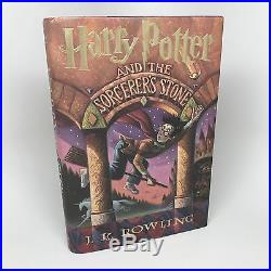 Harry Potter Sorcerer's Stone SIGNED FIRST PRINTING / EDITION 1998 J. K. Rowling