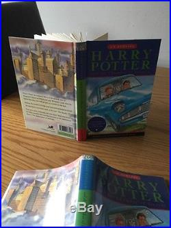 Harry Potter & The Chamber Of Secrets FIRST UK EDITION (1/1) HB 1998 SIGNED