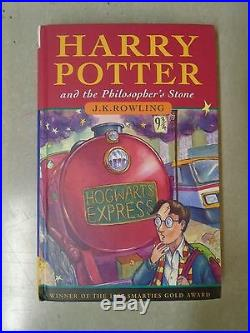 Harry Potter and the Philospher's Stone First Edition SIGNED
