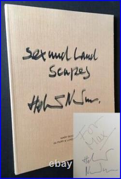 Helmut Newton Sex and Landscapes / Signed 1st Edition 2001
