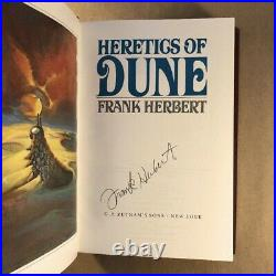 Heretics Of Dune by Frank Herbert (Signed, Limited First Edition, Hardcover)