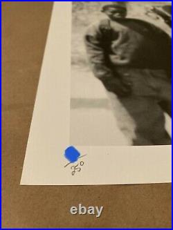 Hold Up print by JR. First Edition 2007. Like Banksy. RARE Signed/Numbered 250