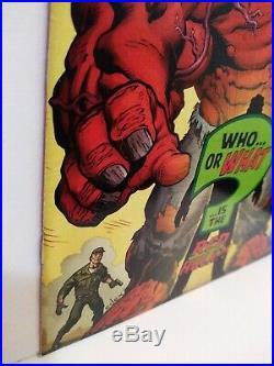 Hulk #1 1st Red Hulk Atomic Comics Variant 3x Signed McGuinness Loeb Vines NM 1