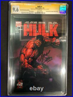 Hulk #1 Wizard World Michael Turner Variant CGC SS 9.6 Signed Jeph Loeb 1st Red