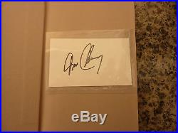 Hunt for Red October by Tom Clancy. Flat Signed first edition in 1st issue DJ