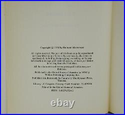 I Am Legend RICHARD MATHESON Signed First Hardcover Edition 1st 1970 Review Copy