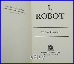 I, Robot by ISAAC ASIMOV SIGNED First Edition 1950 Inscribed Orig Jacket