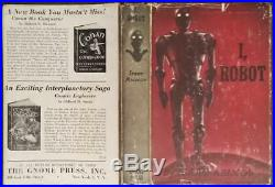 I, Robot by Isaac Asimov Signed 1st edition 1950 Gnome Press