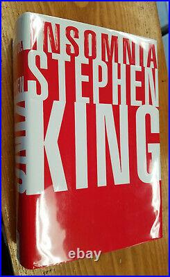INSOMNIA by Stephen King AS NEW First edition hardcover withdust jacket SIGNED