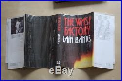 Iain Banks (1984)'The Wasp Factory', signed first edition 1/1