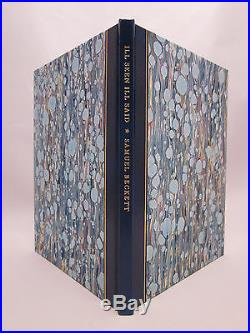 Ill Seen Ill Said Samuel Beckett SIGNED Limited First Edition #33/299