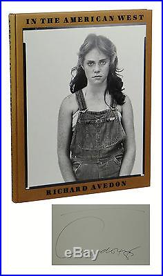 In the American West SIGNED by RICHARD AVEDON First Edition 1st Print 1985