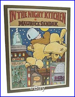 In the Night Kitchen First Edition Signed Maurice Sendak 1970 1st Printing Book