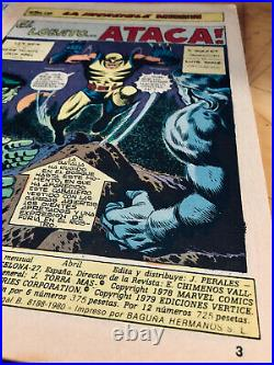 Incredible Hulk 181 (spanish Edition) First Appearance Of Wolverine Quad Signed