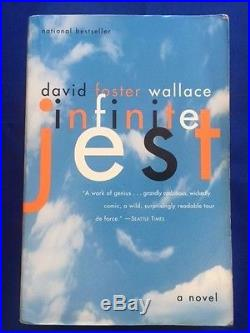 Infinite Jest First Paperback Edition Signed By David Foster Wallace