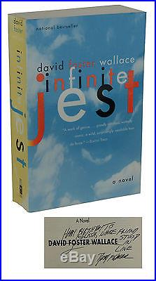 Infinite Jest SIGNED by DAVID FOSTER WALLACE First Paperback Edition 1st 1997