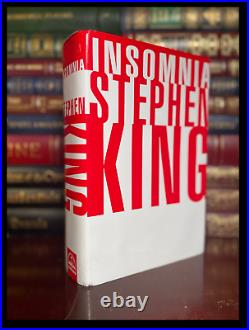 Insomnia SIGNED by STEPHEN KING Hardback 1st Edition First Printing