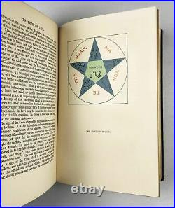 Israel Regardie Tree of Life signed 1st Edition 1932 occult Aleister Crowley ded