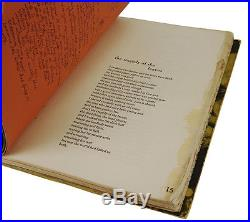 It Catches my Heart in its Hands CHARLES BUKOWSKI Signed Limited First Edition