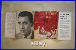 J. D. Salinger (1951)'The Catcher in the Rye', US first edition, signed ephemera