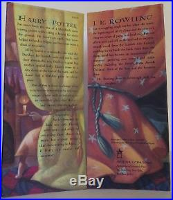 J. K. ROWLING Harry Potter And The Sorcerer's Stone INSCRIBED FIRST EDITION