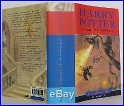 J. K. ROWLING Harry Potter and the Goblet of Fire SIGNED FIRST EDITION