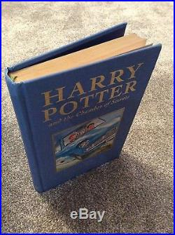 J K Rowling Harry Potter Chamber of Secrets Signed First Edition Deluxe 1st Prin