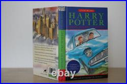 J. K. Rowling, Harry Potter and the Chamber of Secrets, UK signed first edition