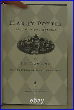 J K Rowling / Harry Potter and the Sorcerer's Stone Signed 1st Edition #1306128