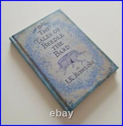 J K Rowling hand signed + hologram (Harry Potter) Beedle the Bard 1st edition