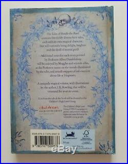 J K Rowling hand signed with hologram (Harry Potter) Beedle the Bard 1st edition