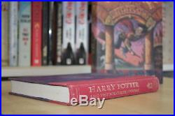 JK Rowling (1998) Harry Potter and the Sorcerer's Stone, US signed first edition