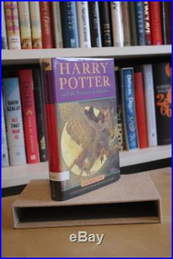 JK Rowling (1999) Harry Potter and the Prisoner of Azkaban, signed first edition