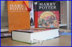 JK Rowling (2007) Harry Potter and the Deathly Hallows, signed first edition