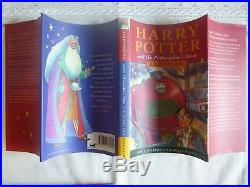 JK Rowling,'Harry Potter and the Philosopher's Stone' SIGNED UK first edition