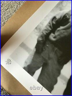 JR Print Ladj Braquage (Ladj Ly) 2006 Very rare Found LA First Edition