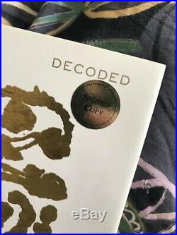 Jay-Z Decoded Rare SIGNED 1st Edition Book Great Condition