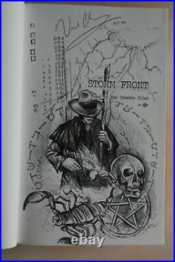 Jim Butcher Dresden Subterranean Press signed 1st edition first printing set