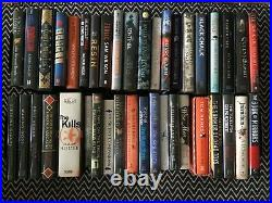 Job lot of over 130 signed first edition books, bought from Goldsboro Books