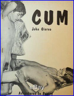 John Giorno, Les Levine / Cum Signed Lettered Edition First Edition 1971
