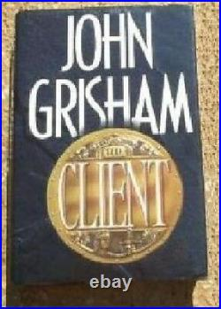 John Grisham The Client Signed First Edition