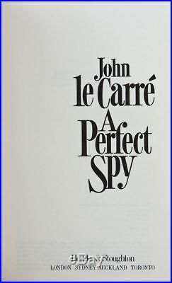 John Le Carre A Perfect Spy Signed Limited 250 Numbered Copies First Edition