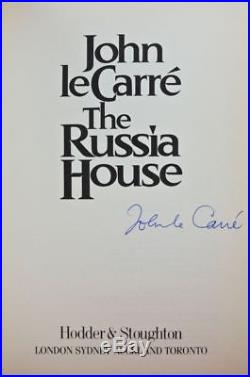 John Le Carre The Russia House Signed Limited 250 Numbered Copies First Edition