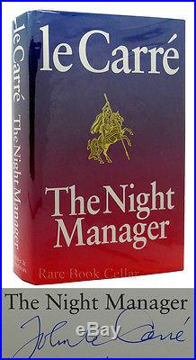 John Lecarre THE NIGHT MANAGER Signed 1st Edition First Printing