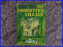 John Steinbeck Signed 1941 Hard Cover First Edition (THE FORGOTTEN VILLAGE)