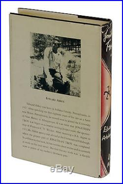 Jonathan Troy SIGNED by EDWARD ABBEY First Edition 1954 1st Printing RARE