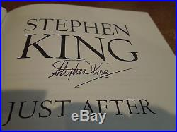 Just after Sunset by Stephen King (2008, Hardcover) FIRST EDITION/PRINT SIGNED