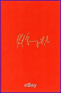 KURT VONNEGUT SIGNED BREAKFAST OF CHAMPIONS First Edition, FIRST Printing